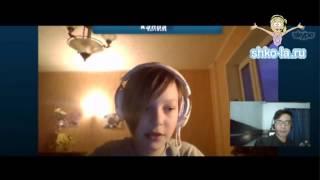 Урок английского по скайп. Преподаватель - Walter, студент - Коля (11 лет)