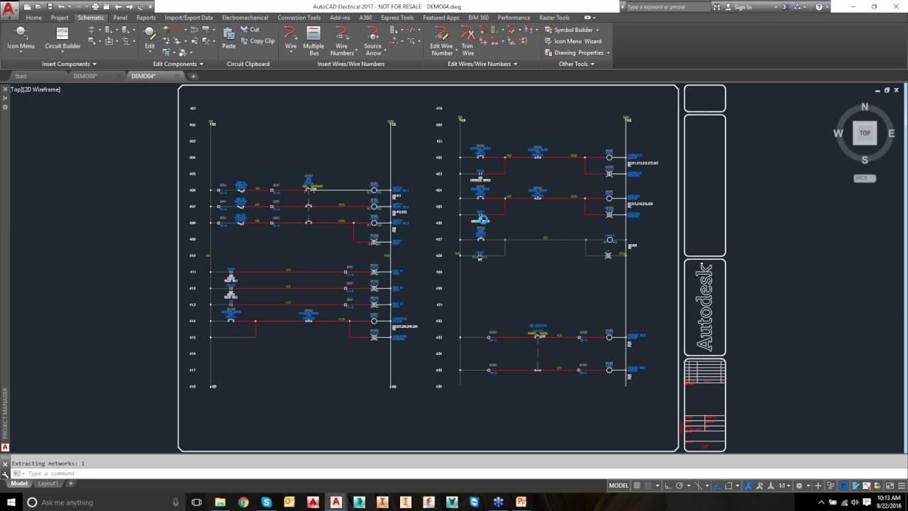 Autocad Electrical 2017 Webinar Demo Youtube
