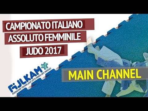 Judo - Campionato Italiano Assoluto Femminile 2017