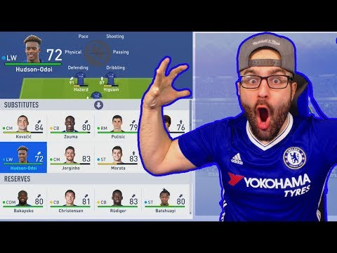 WOW BUILDING THE BEST YOUNG SUPERSTAR TEAM EVER! FIFA 19 CAREER MODE CHELSEA!!