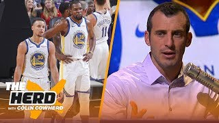 Doug Gottlieb: The gap between the Warriors and the rest of the league has closed | NBA | THE HERD