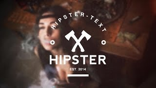Hipster Intro Template for After Effects CC