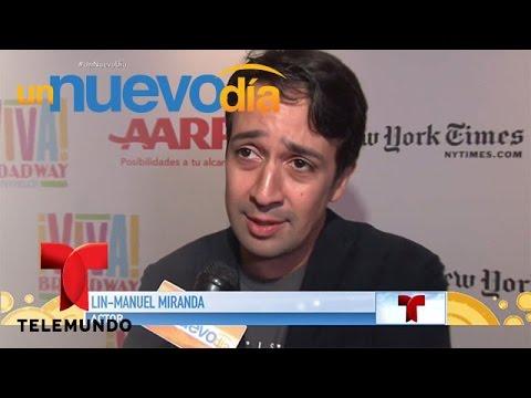 Lin-Manuel Miranda dijo lo que piensa de Jennifer López | Un Nuevo Día | Telemundo