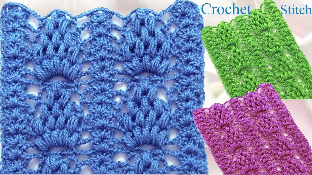 Como tejer punto piña puff a Crochet hermoso y reversible/ how to ...