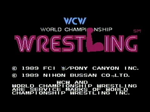 WCW World Championship Wrestling - NES Gameplay
