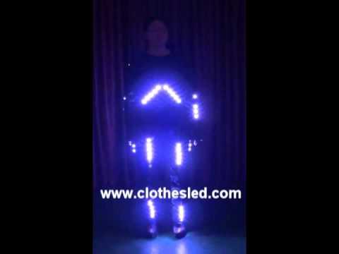 Illuminated Dance Costumes,