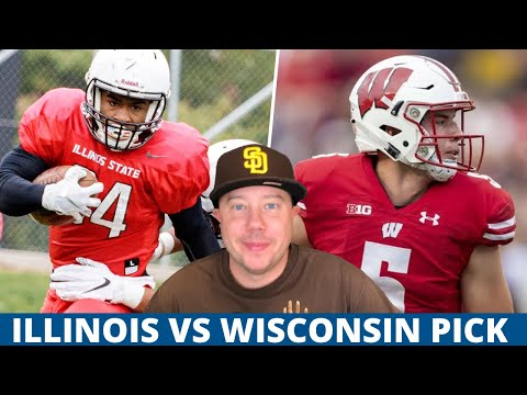 Illinois at Wisconsin Pick Week 8 College Football Predictions