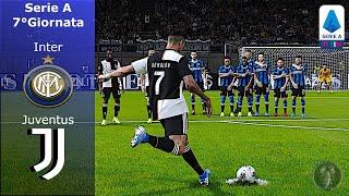 """Gambar cover PES 2020 • Inter Vs Juventus 7°Giornata Serie A """"CR7: Gol Fantasma"""" (COM vs COM Lv.Leggenda)"""