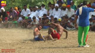 NOORDI (Tarn Tarn) | RURAL KABADDI  LEAGUE - 2016 | 1st & 2nd Quarter Final | Full HD | Part 1st