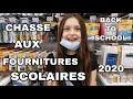 Gambar cover CHASSE AUX FOURNITURES SCOLAIRE 2020 - BACK TO SCHOOL - #1