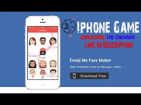 How to use Emoji Me Face Maker Official Apps in || iOS || Android ||  vignesh00521