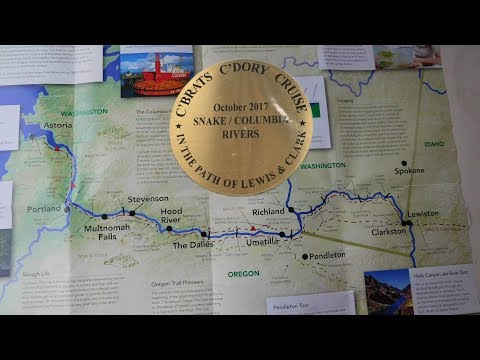 The Great Lewis & Clark Snake/Columbia River C-Dory Cruise 2017