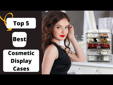 Top 5 Cosmetics  Storage Display Cases   Amazon   Review