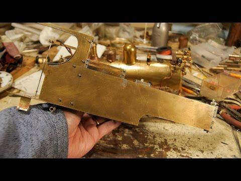 'Russell' Live Steam Model Locomotive Part 16