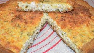 #Открытый пирог с курицей#  (Вкусняшки от Ксюняшки)