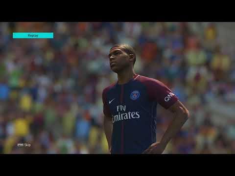 PES 2018 - PSG vs AC Milan (PS4 Pro)