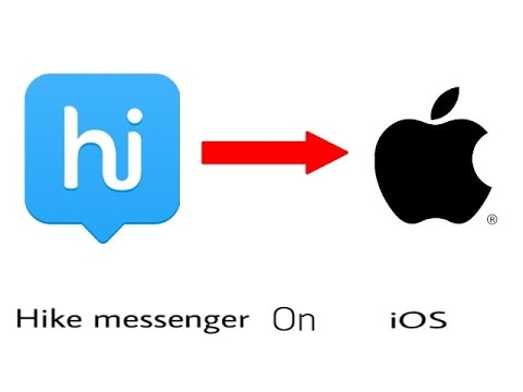 How to download hike messenger on iOS 9