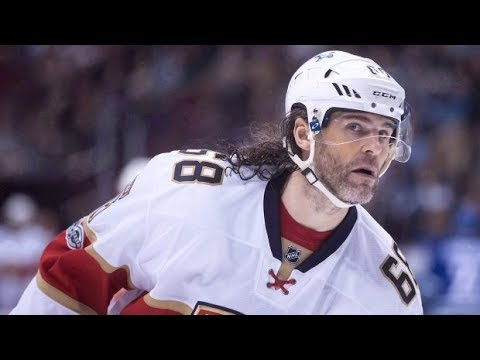 NHL News – Jagr Signs With Calgary Flames