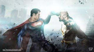 Чёрный Адам против Супермена