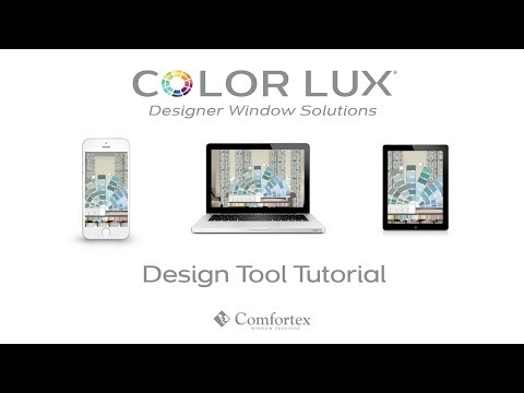 Color Lux Window Solutions Design Tool Tutorial
