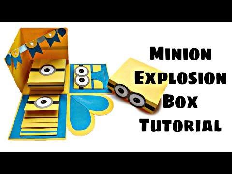 DIY - Minion Explosion Box Tutorial | DIY Explosion Box (Requested Video)