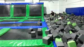 Karnet Jumping Fitness do parku trampolin dla dwóch osób – Rzeszów video