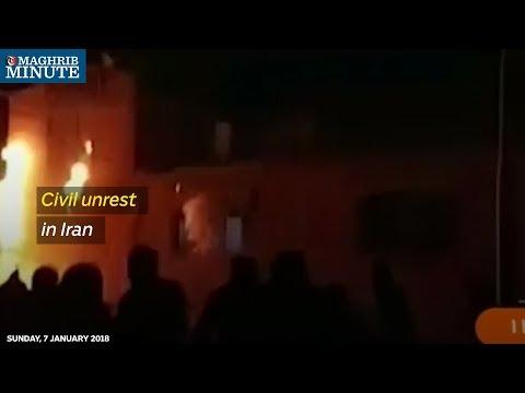 Civil unrest in Iran