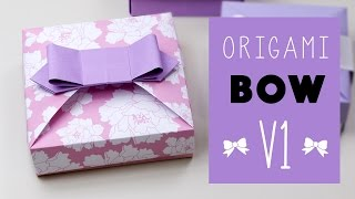 Origami Bow V1 for Mix & Match Gift Box