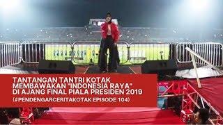 KOTAK Tantangan TANTRI Menyanyikan Lagu Indonesia Raya PendengarCeritaKOTAK Episode 104