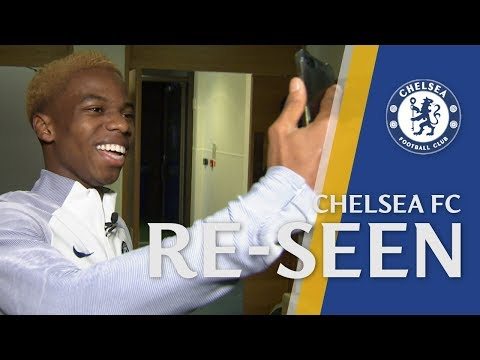 Charly Musonda Reveals Who His Idol Was & Why He Has So Many Pairs Of Boots | Chelsea Re-seen