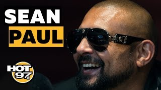 Sean Paul On Smoking w/ Rihanna, Thoughts On Afrobeat & Buju Banton's Return