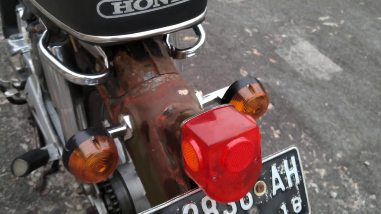 Review Honda C70 Modifikasi