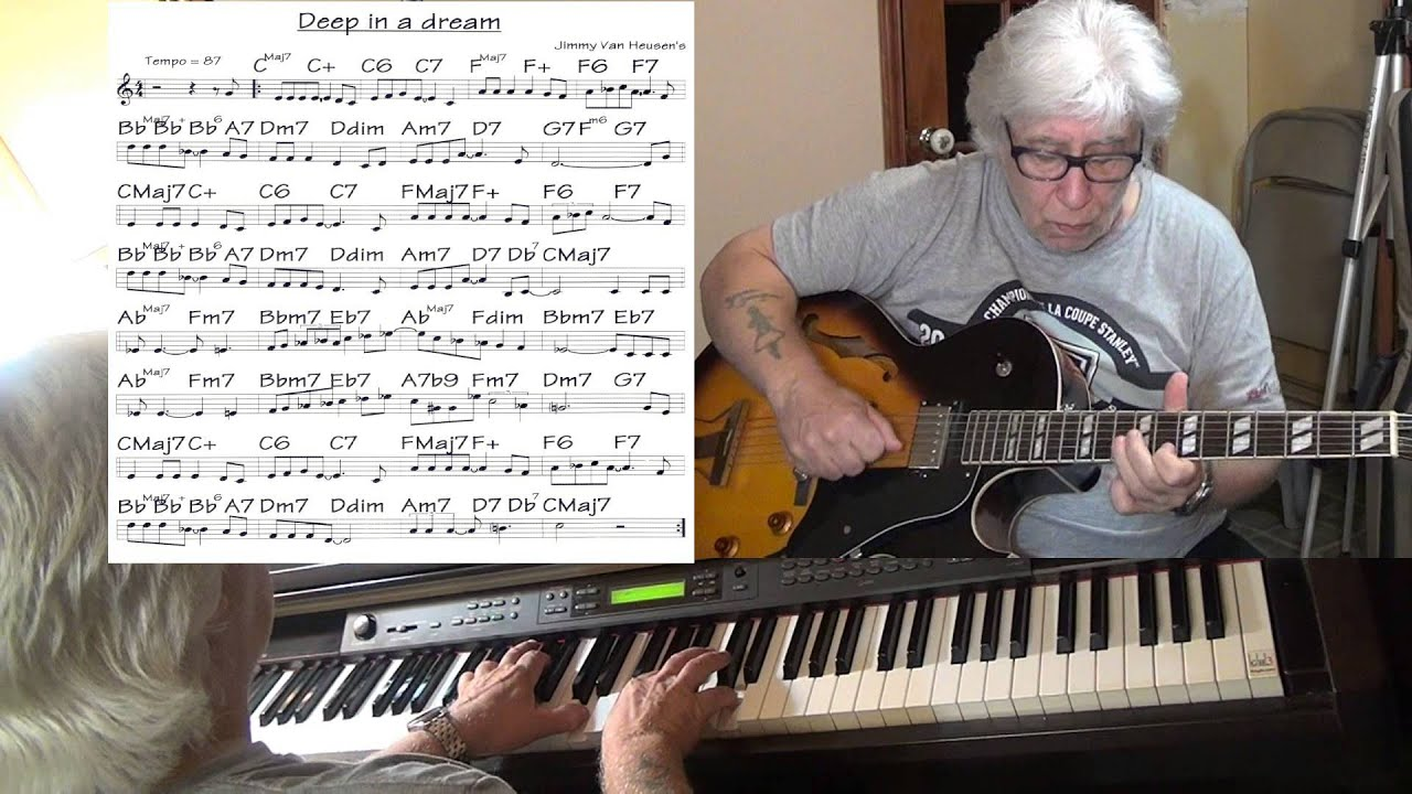 Deep in a dream jazz guitar piano cover jimmy van heusen deep in a dream jazz guitar piano cover jimmy van heusen yvan jacques hexwebz Image collections