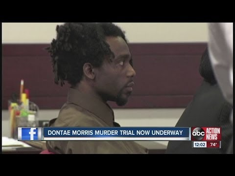 Murder trial for Dontae Morris begins with powerful opening statements from the prosecution