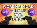 World Record Area 51 No Man's Land over 3000 + kills Moon (All Gums & RK5) black ops 3 zombies