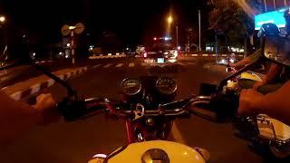 Tuần tra đêm chống quái xế đua xe, bão đêm