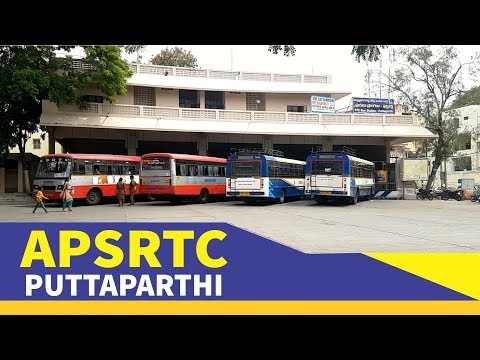 Puttaparthi APSRTC Bus Station, Anantapur District , AP
