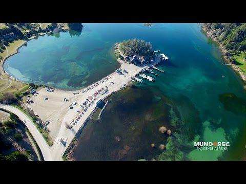 Bariloche, Patagonia, Argentina desde un Drone en 4K