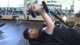AllStrengthTraining.com - Rolling Dumbbell Extension