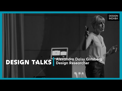 Alexandra Daisy Ginsberg on shaping the future through desig