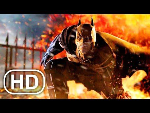 BATMAN Vs KILLER CROC Fight Scene Cinematic - Batman Arkham Origins |