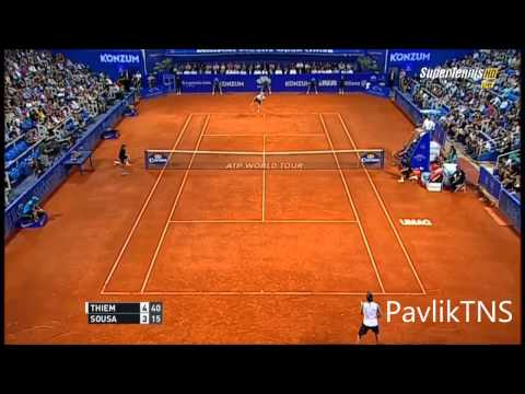 Dominic Thiem vs Joao Sousa Highlights HD Croatia Open 2015 Final