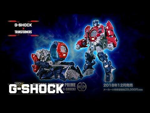 This Casio G-Shock Watch Transforms into Optimus Prime