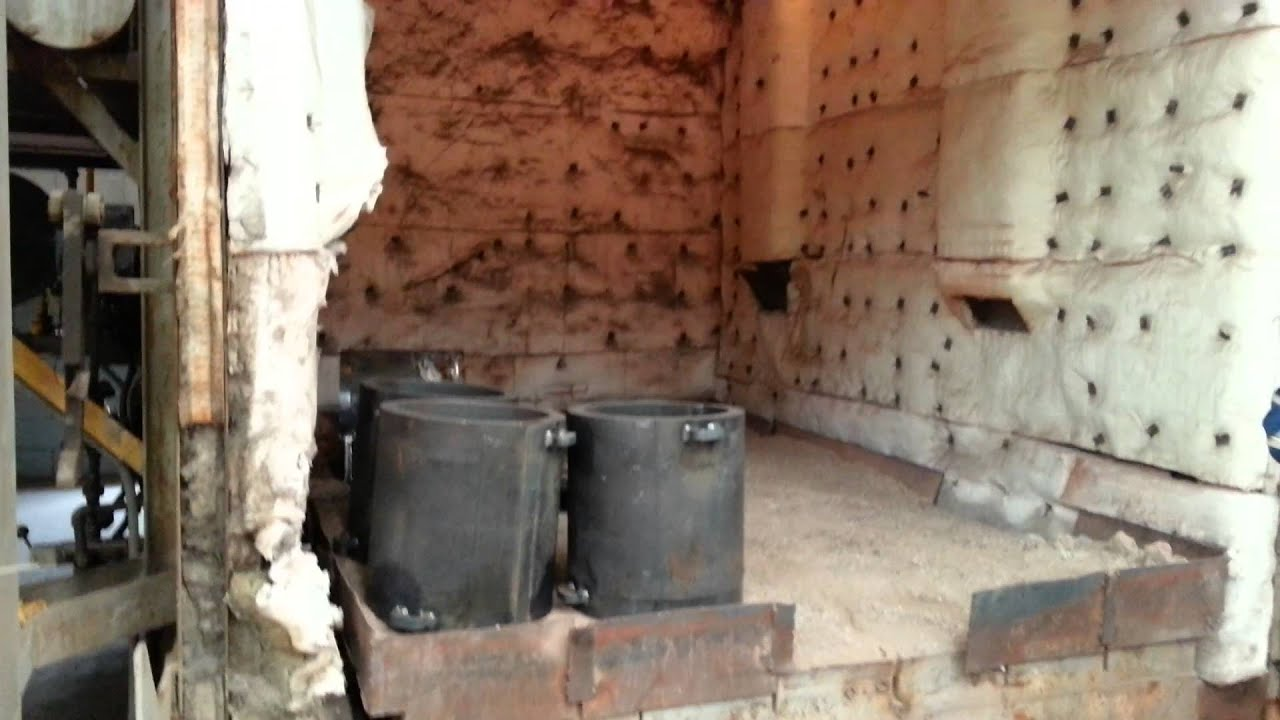 Horno tratamiento termico youtube for Aislante termico para hornos