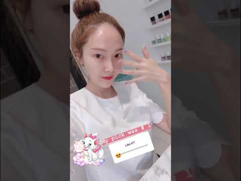 2018/8/2 jessica.syj Instagram Story update2(Jessica Jung)