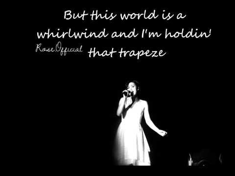Trapeze Dia Frampton Lyrics