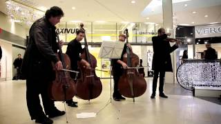 Flashmob of the Verbier Festival Chamber Orchestra