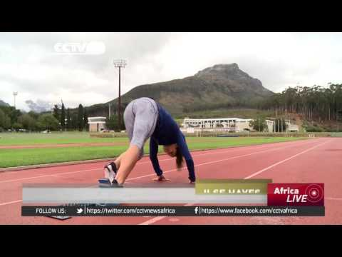 South African paralympian aims for Rio gold