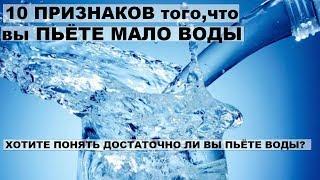 видео Почему мы пьем мало воды? 2 литра