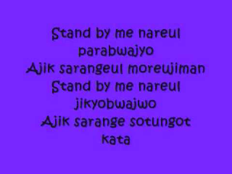 Stand  Me with lyrics  SHINee